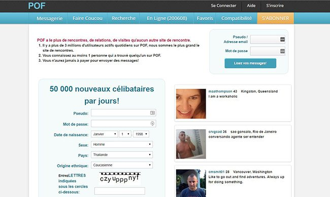 Site de rencontre pof inscription [PUNIQRANDLINE-(au-dating-names.txt) 31