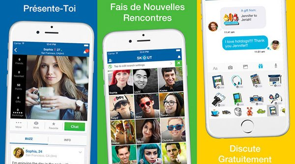 Applications de matchmaking populaires